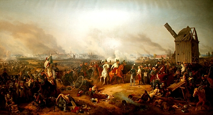 Peter Heß: Batalla de Leipzig (Batalla de las Naciones) (1813)