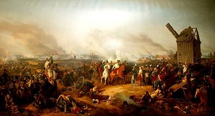 Peter Heß: La battaglia popolare presso Lipsia (1813)