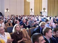 Das Publikum im Senatssaal