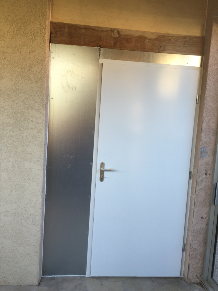Porte Acier de cellier