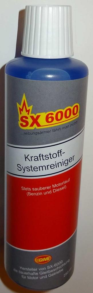 sx 6000 kraftstoff systemreiniger autozubeh r onlineshop. Black Bedroom Furniture Sets. Home Design Ideas