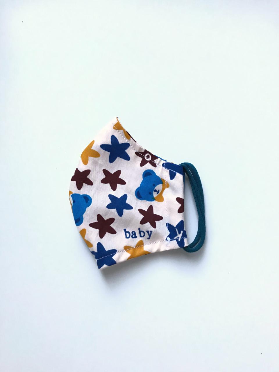 Kind-02 | Selbstgenähte Maske für Kinder | 3,00 €/Stück