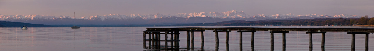 Morgens am See (Eching am Ammersee