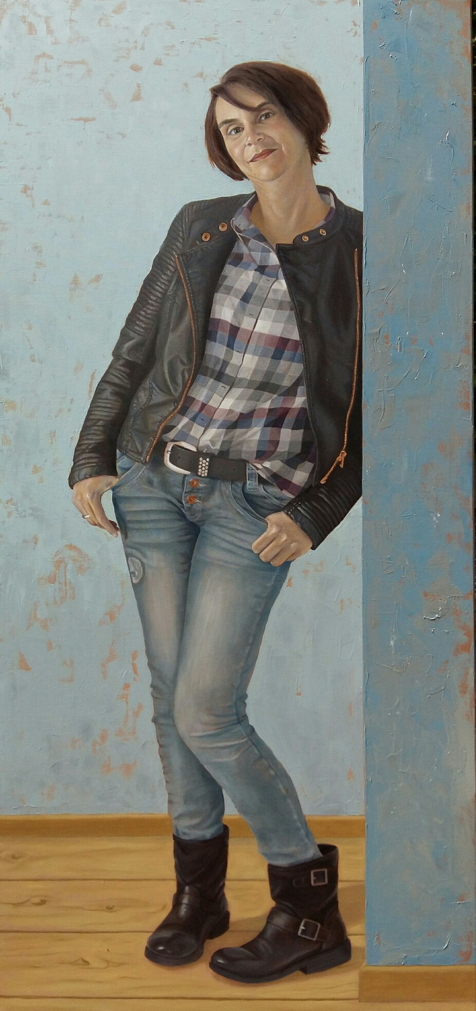 """Portrait """"Alex"""" Lebensgröße (in Arbeit)"""