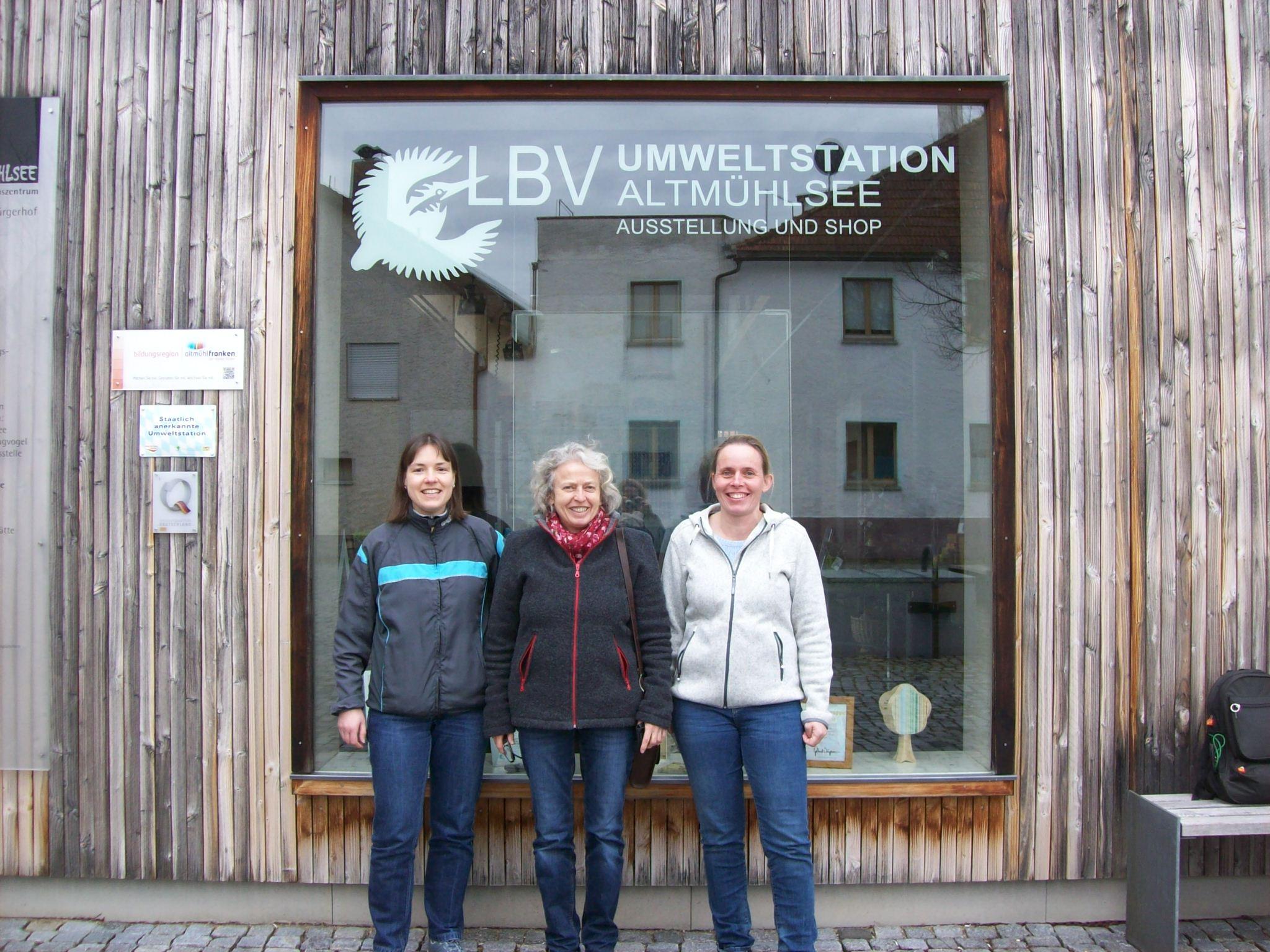 Daniela Kiermeier, Ingrid Schubert, Elisabeth Herold © Ingrid Schubert