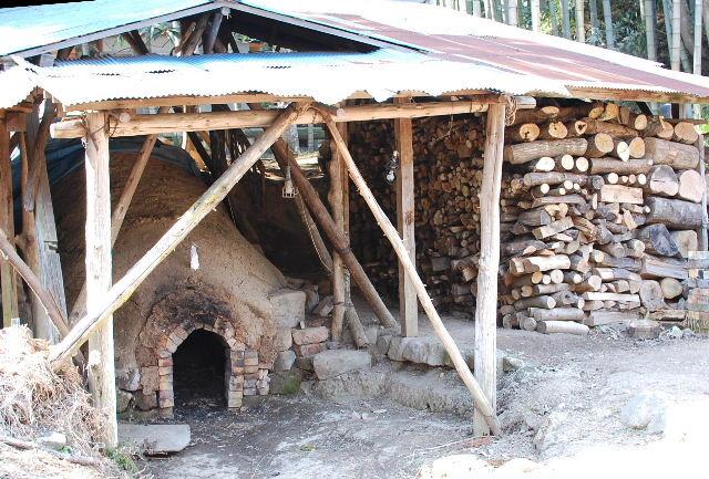 笹谷窯 窖窯(あながま)
