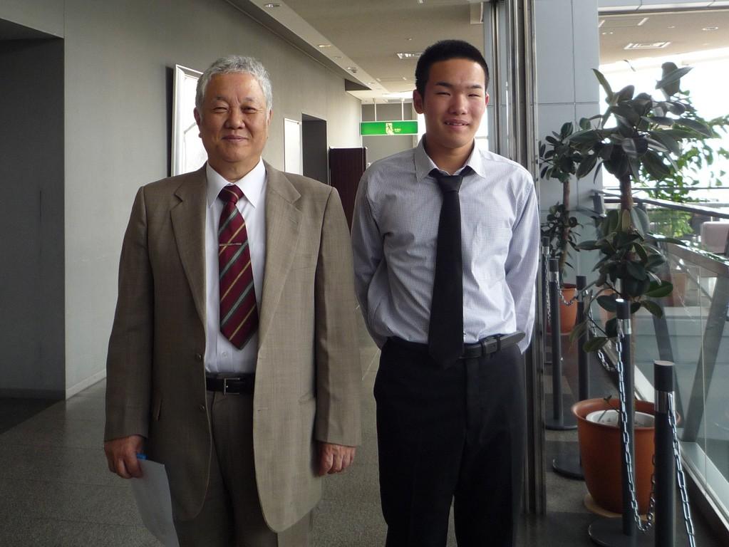 木村英明先生育ててくださりありがとう!
