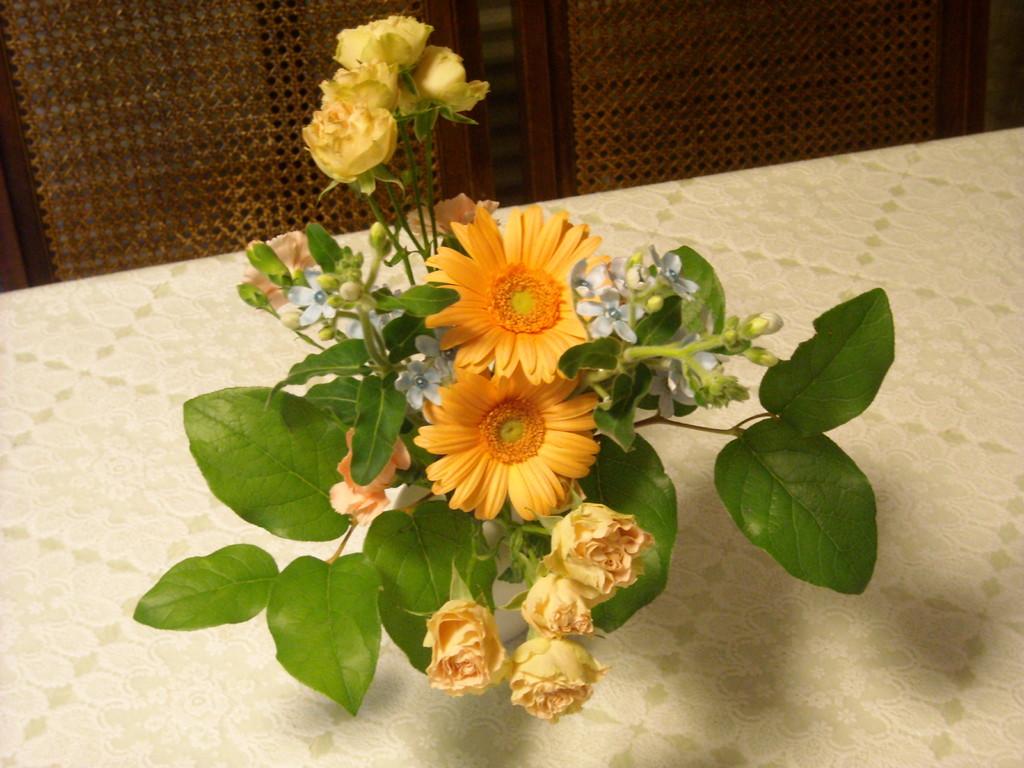 お花~みなさんありがとう