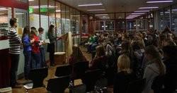 Schulzentrum Cyriax, Teilnehmer des Vorlesewettbewerbes am 2. - 3. Dezember 2014
