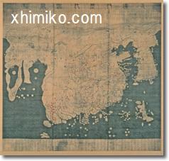 古代東アジア地図