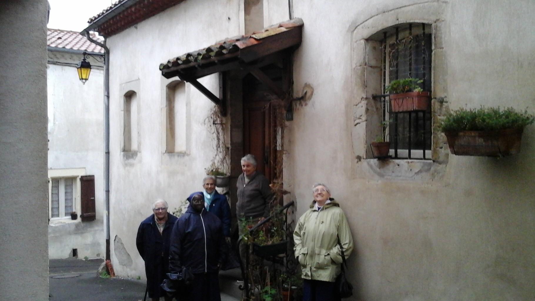 Maison des soeurs à Saïx