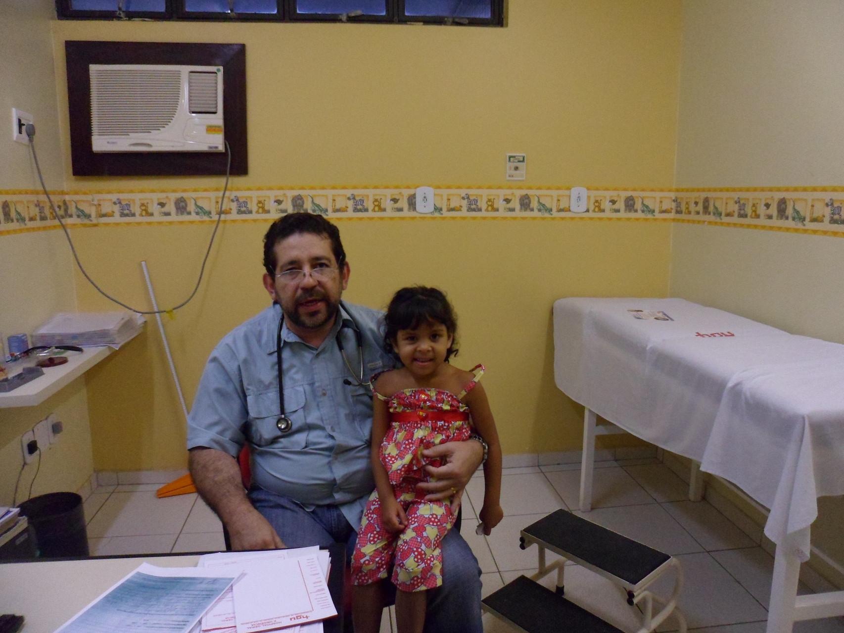 Avec le docteur