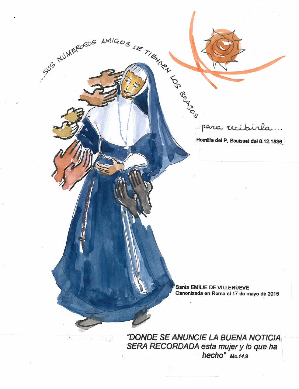 Le sens de l'année par Marie Sidonie Gabon