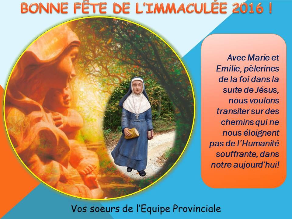 Bonne Fête De Limmaculée Et 180 Ans De Fondation Cic