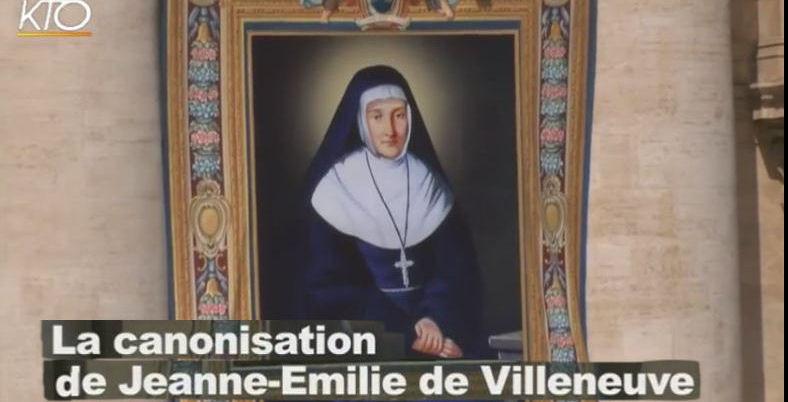 Canonisation de Jeanne-Emilie - KTO