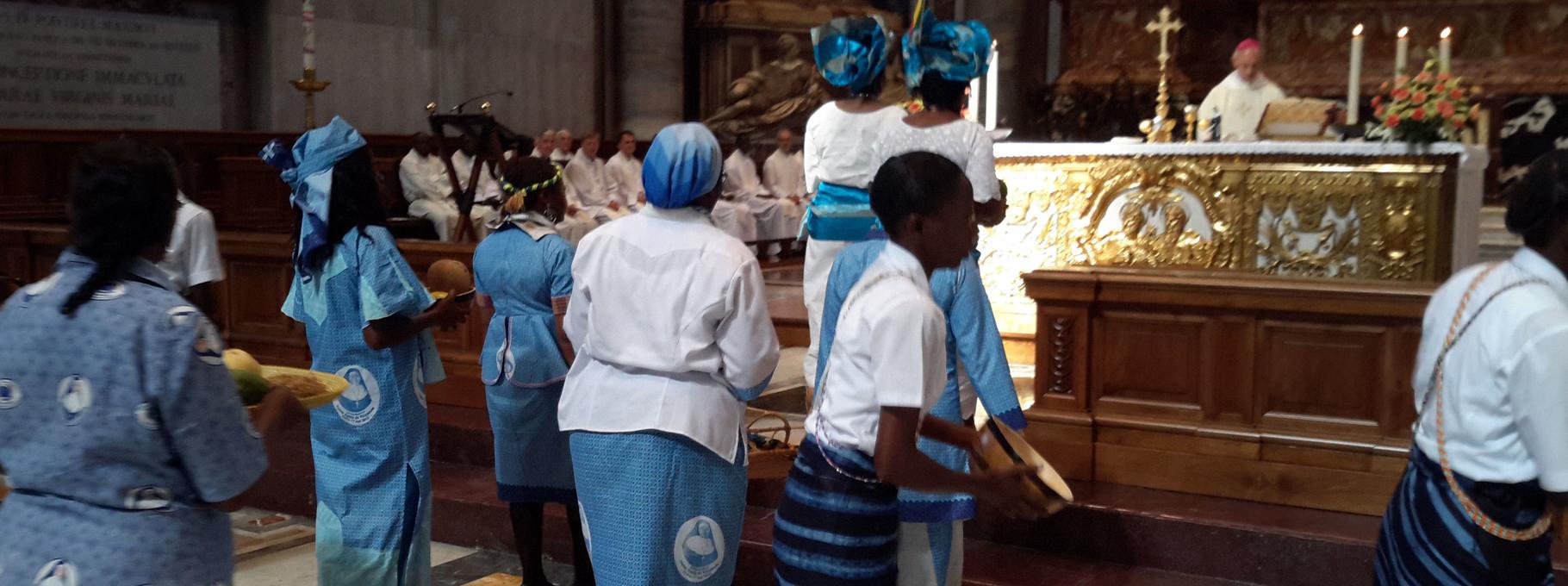 Offertoire : Eucharistie au Vatican