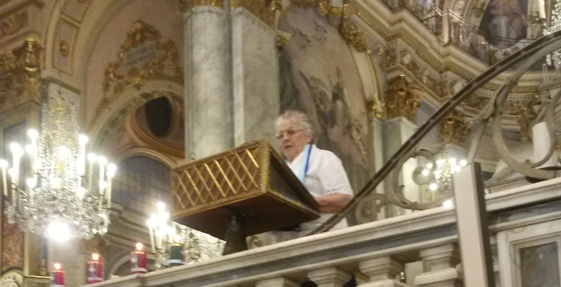 Action de grâces à la Cathédrale d'Acqui