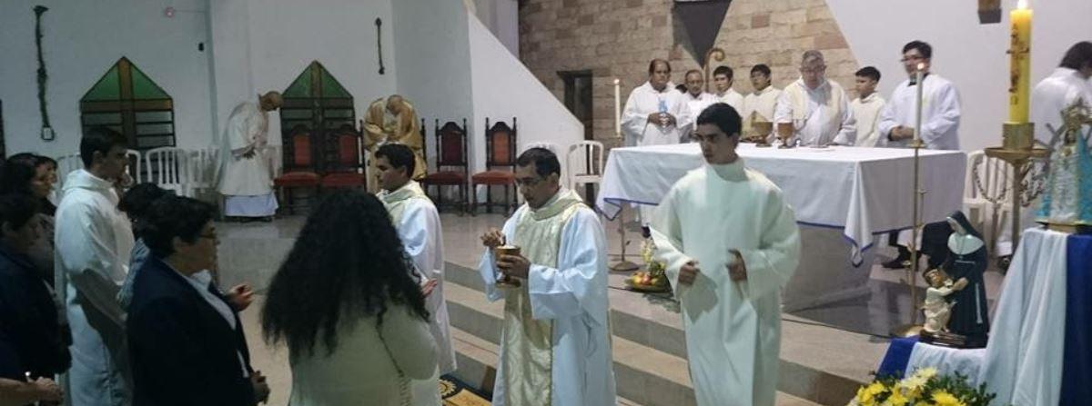 Frères Bleus ordination diaconale