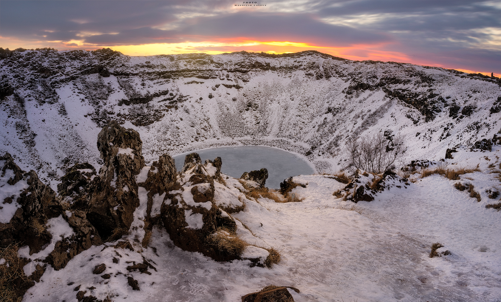 Kerið Sunrise © ( Maurizio Casula Photo )