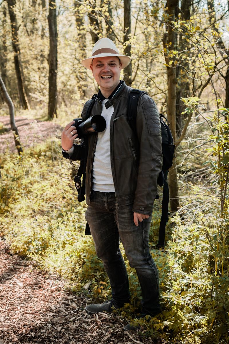 Koen Dohle, fotograaf en eigenaar van DOKOE Fotografie