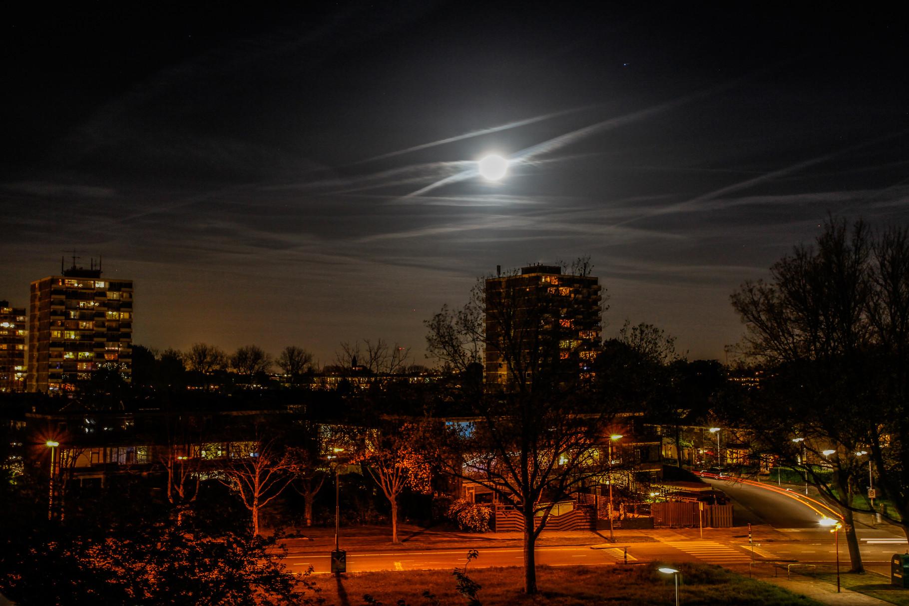 Nachtfoto Driemanspolder Zoetermeer - DOKOE Fotografie