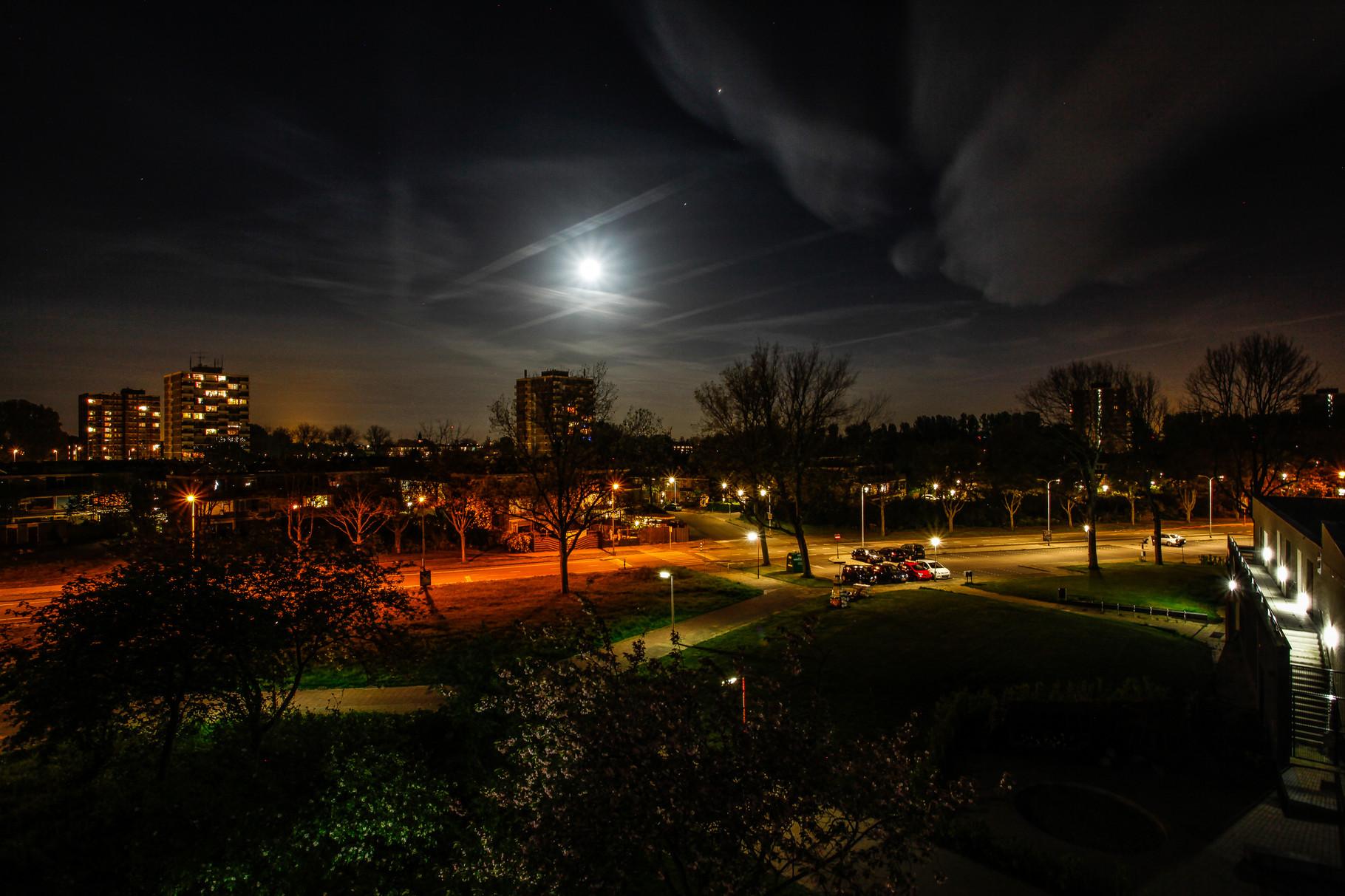 Nachtfoto Bloedbank Zoetermeer - DOKOE Fotografie