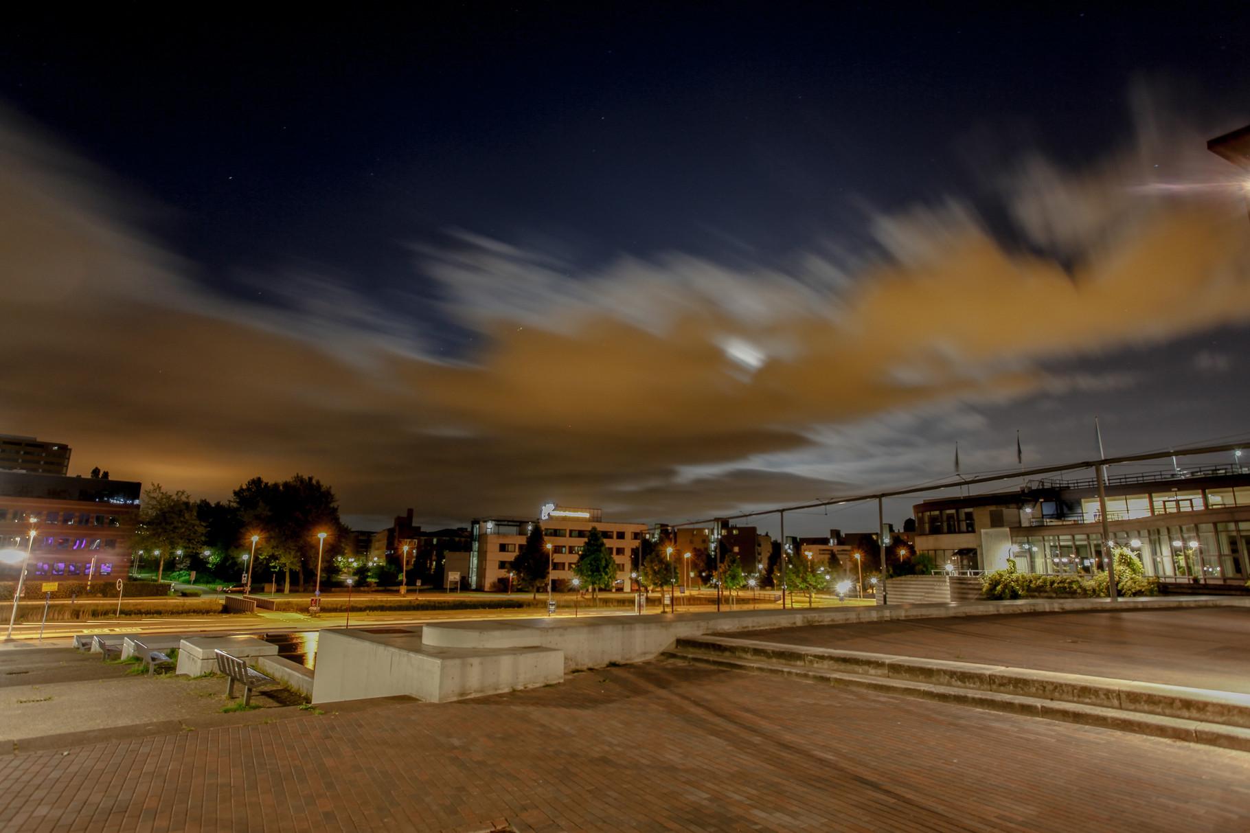 Nachtfoto Rokkeveen Zoetermeer - DOKOE Fotografie