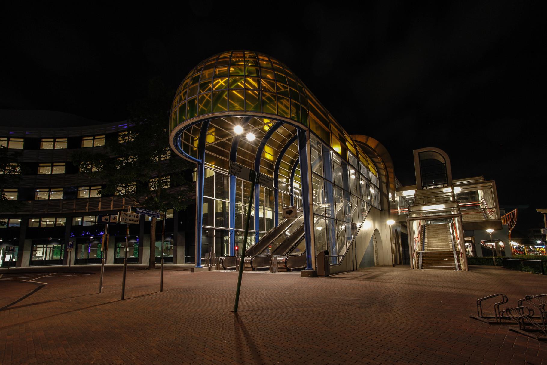 Nachtfoto Mandelabrug kant Rokkeveen - DOKOE Fotografie