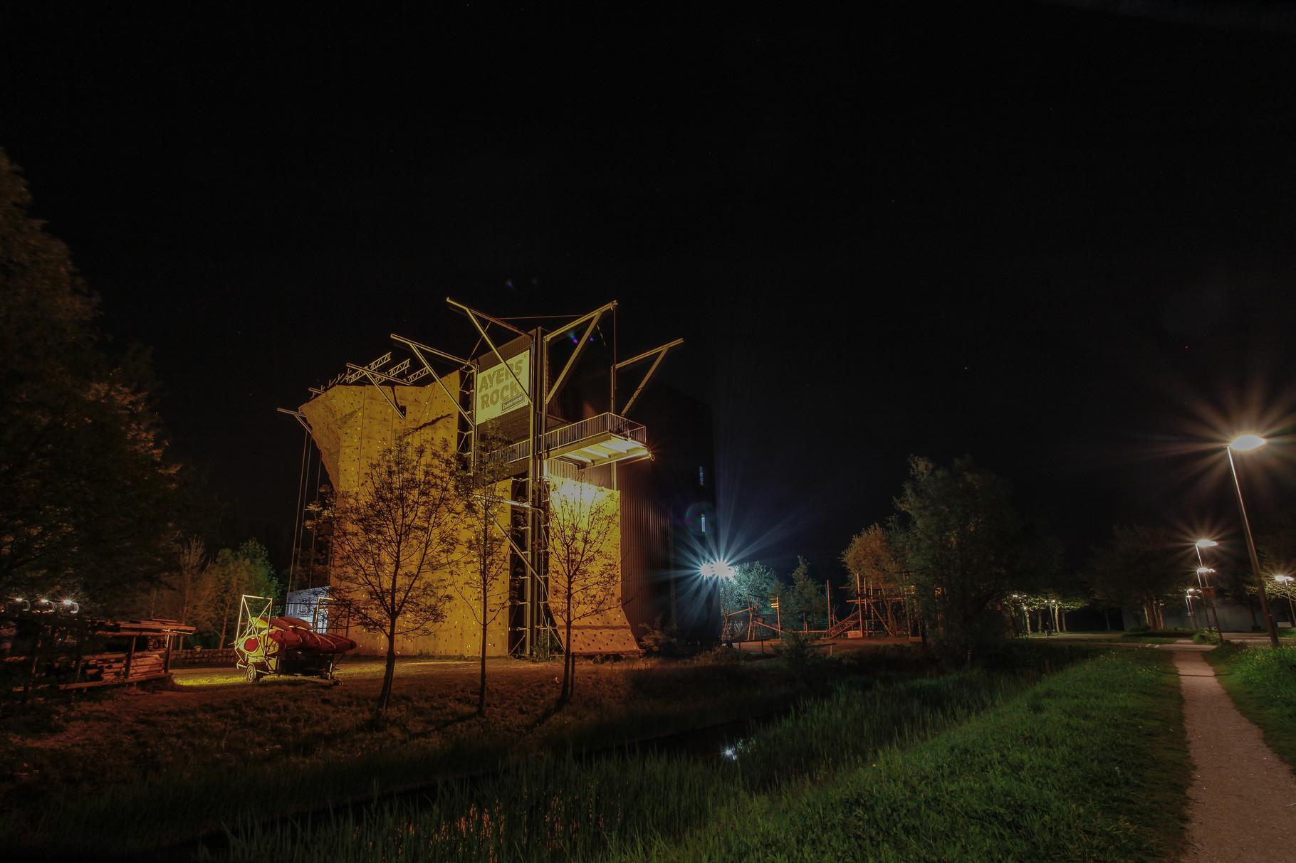Nachtfoto Ayers Rock Zoetermeer - DOKOE Fotografie