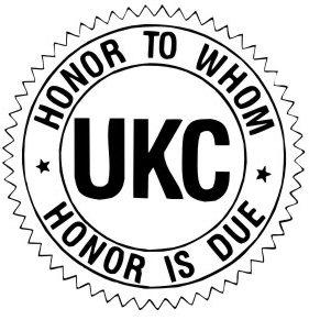 logo représentant la féderation UKC de l'american bully
