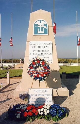 Monument de la 1er Brigade Spéciale du Génie