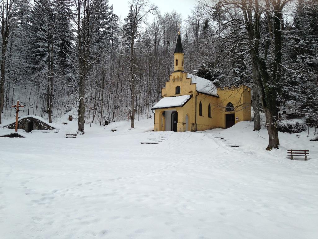 Marienkapelle auf halbem Weg zum Kalvarienberg bei Füssen