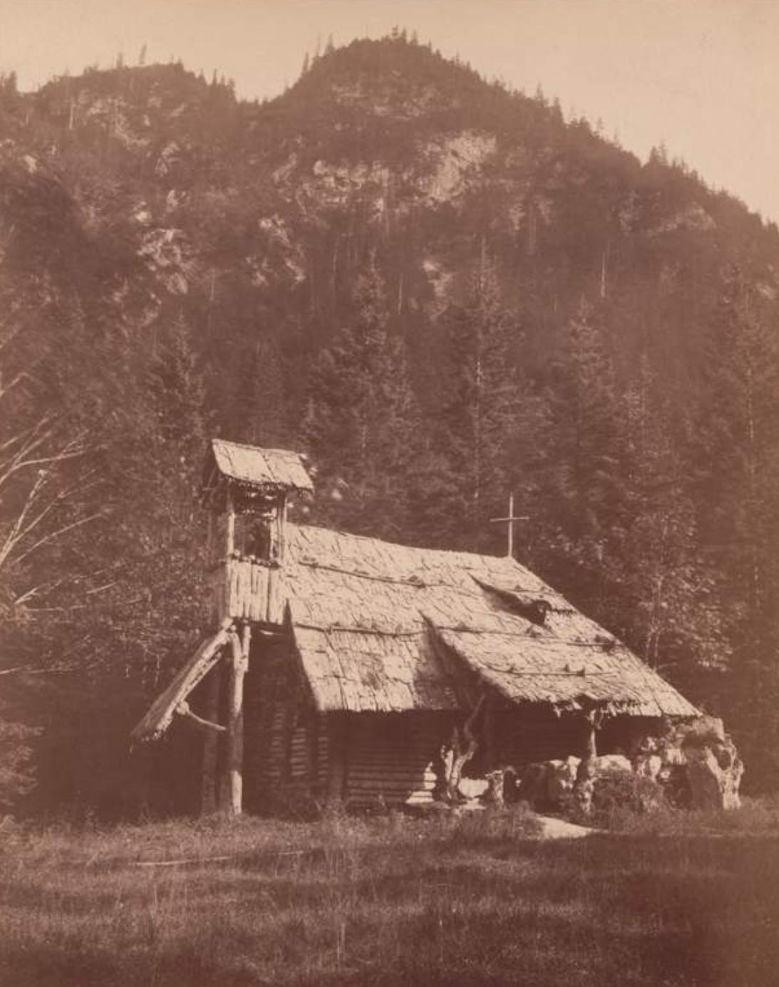 historische Aufnahme der Einsiedelei