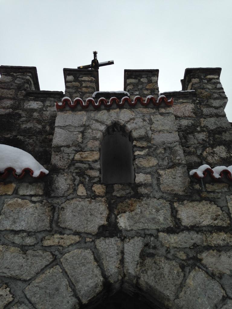Eingang zur Grabkapelle des Kalvarienbergs bei Füssen