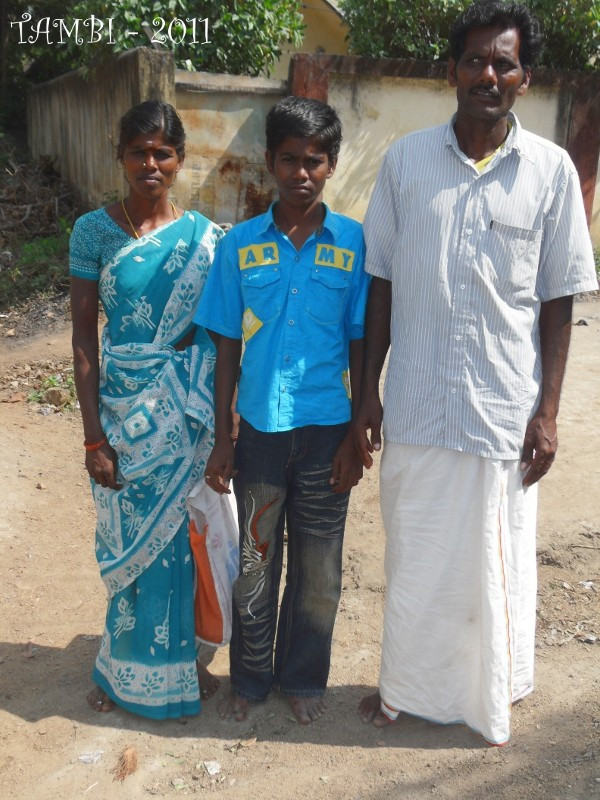 Murugan et ses parents - 2011