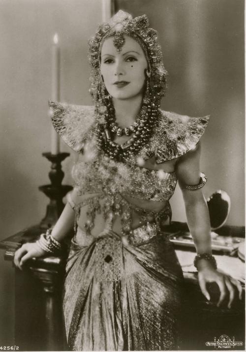 Greta Garbo en el papel de Mata-Hari (1931)
