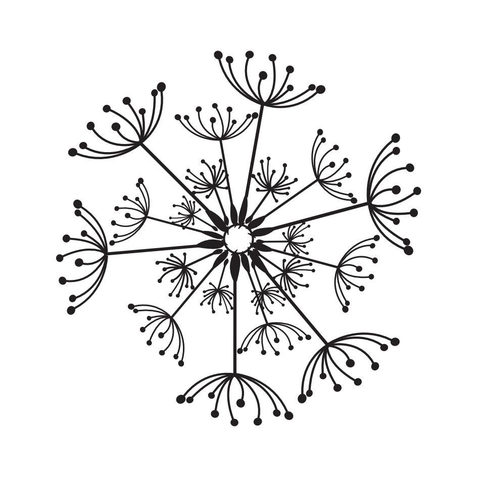 Pusteblumen - Das KleinBedruckte - Druck Dir Deine Welt, wie sie