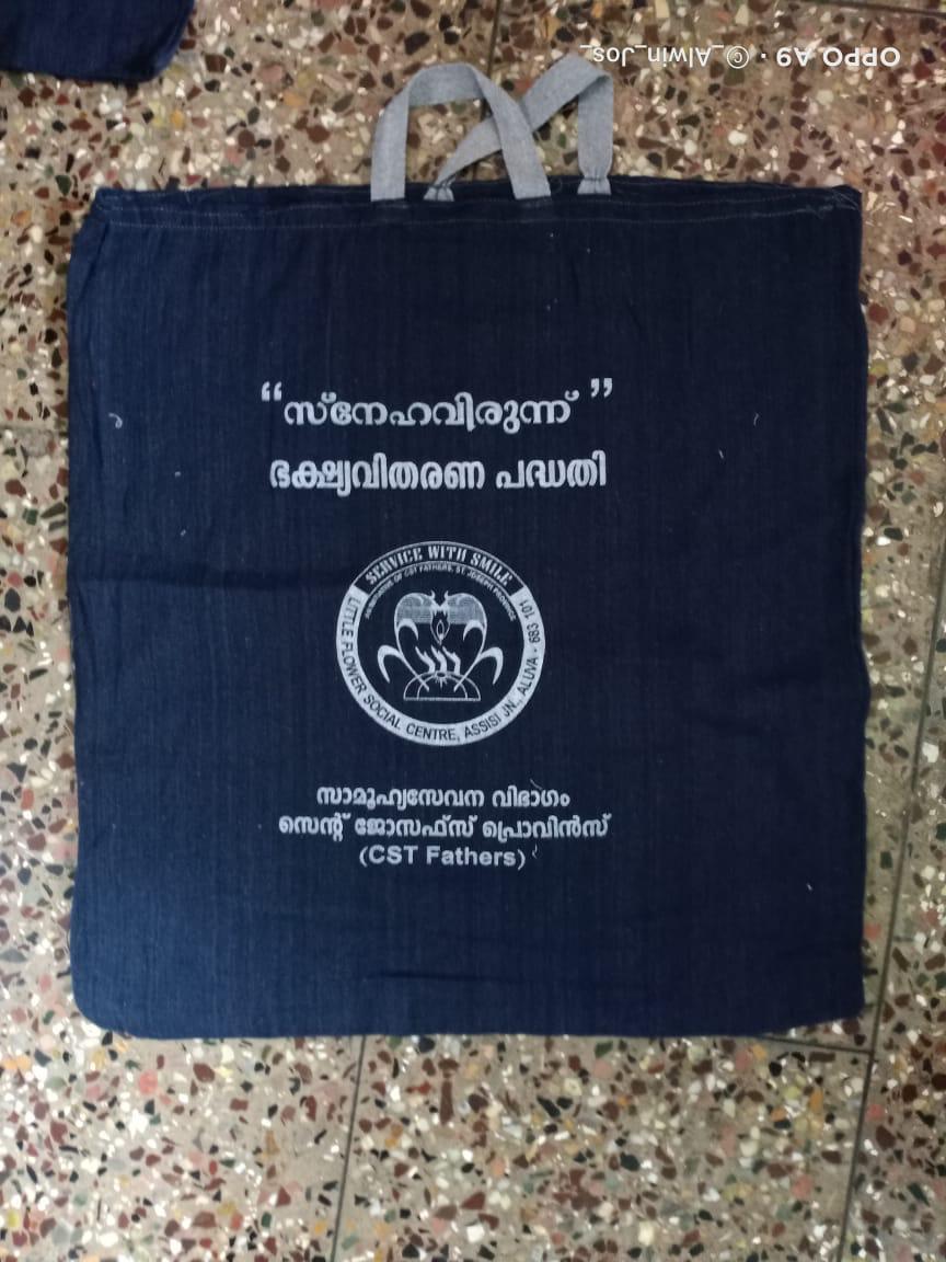 Beutel mit Logo des Konvent
