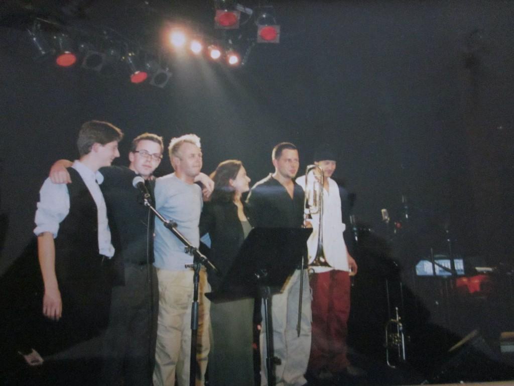 Geada Rippel Group im Porgy und Bess 2001