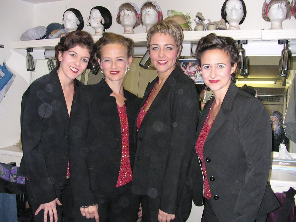 Die Velvet Voices in der Maske, Kammerspiele Wien 2009