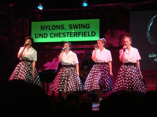 Die V.V. in Louise Martini´s Show im Petticoat, Kammerspielen 2009