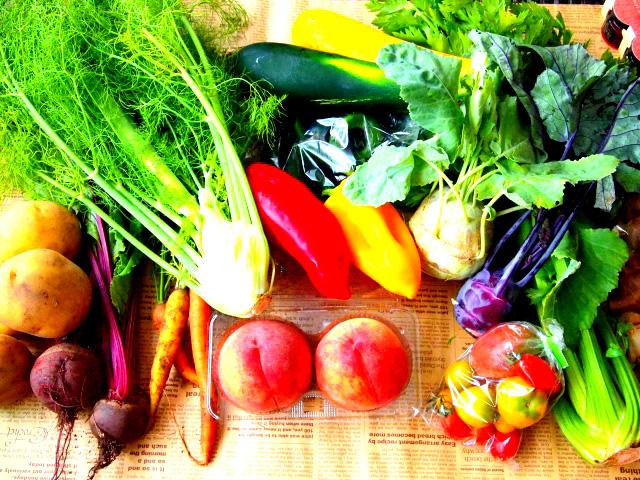 野菜・果物中心の食生活が血液の汚れを防ぐ