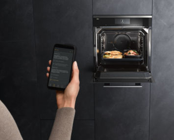Den Backofen per Handy steuern, dank Home Connect