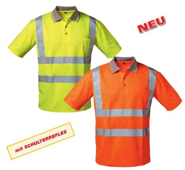 UV + Warnschutz Polo-Shirt