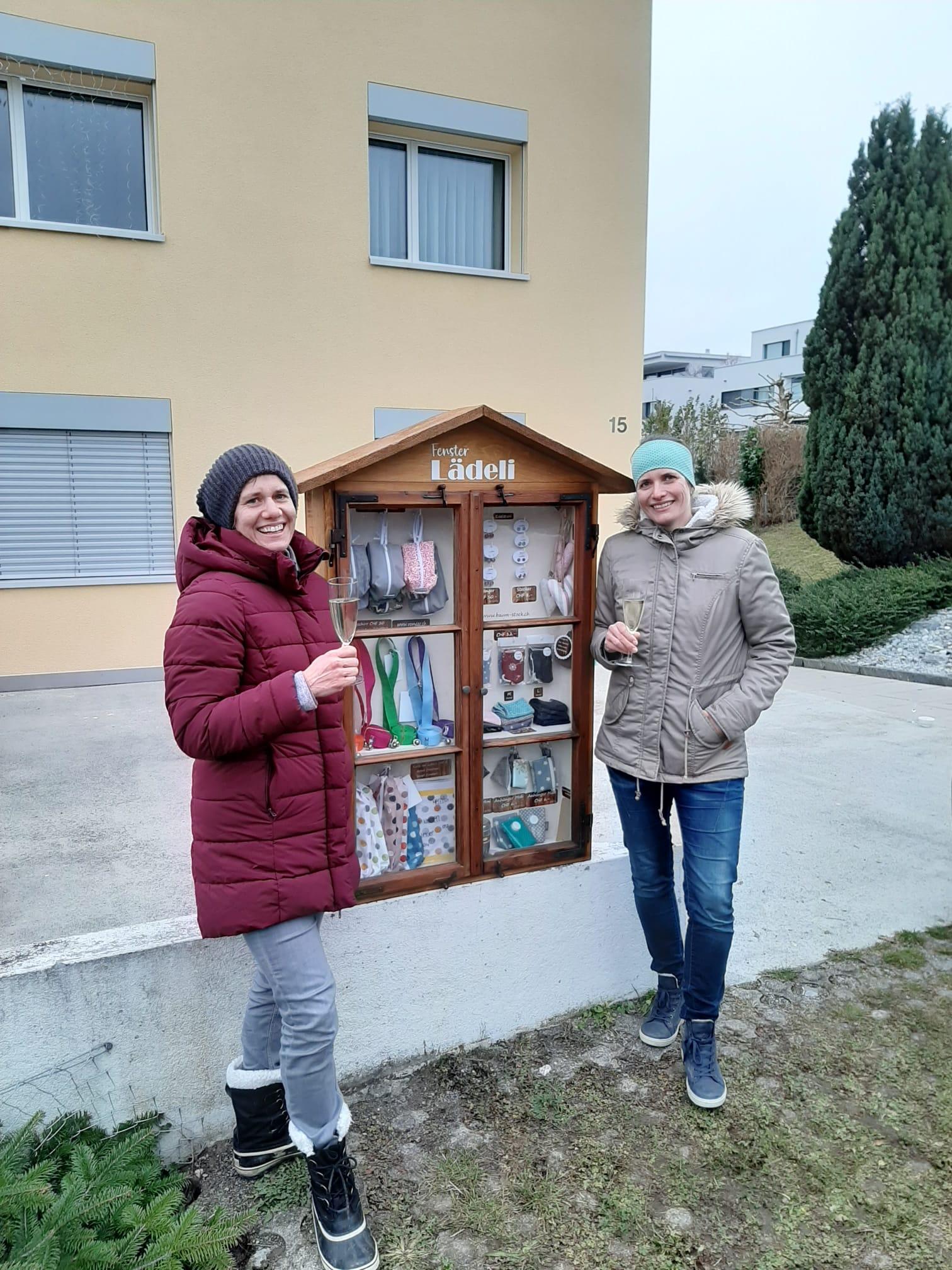Eröffnung Fenster-Lädeli Schluechtstrasse 15