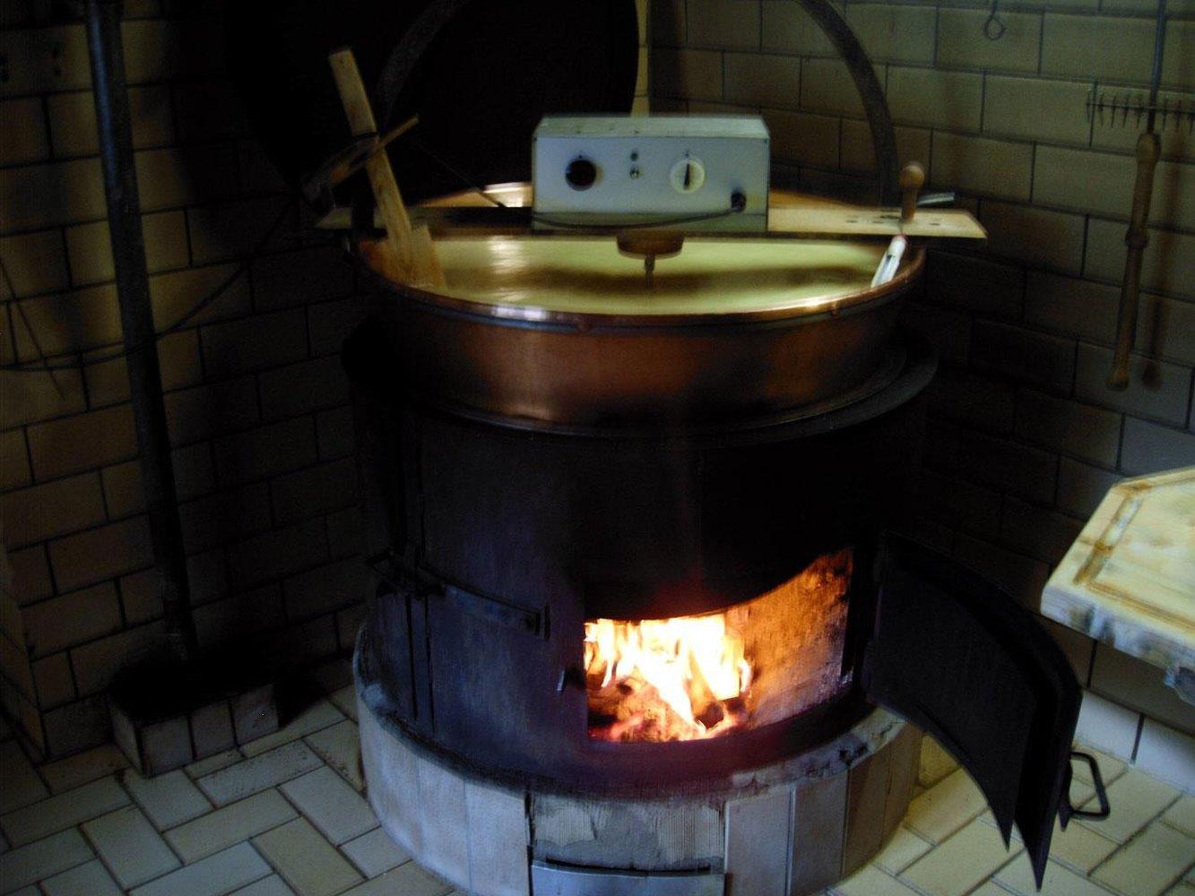 Käseherstellung auf der Inneren Wiesalpe