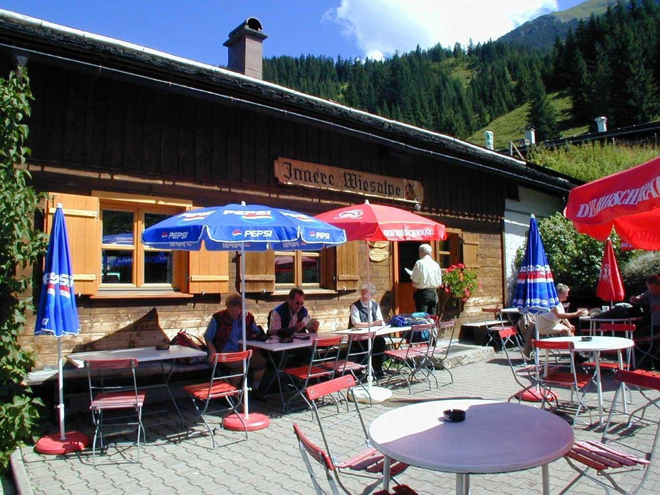 Innere Wiesalpe Kleinwalsertal, Ausflugsziel, Alpe, Brotzeit – Sommerfeeling