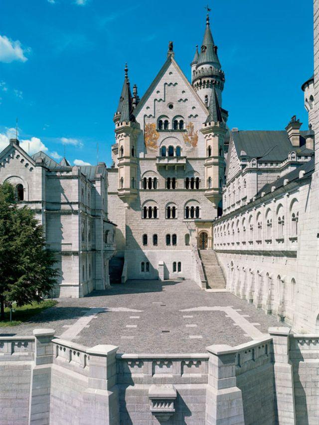 Schloss Neuschwanstein  Füssen im Allgäu