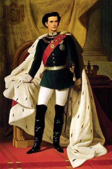 Bayernkönig Ludwig II.  Füssen im Allgäu