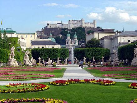 Ansicht von Salzburg/ Foto Touristik Salzburg